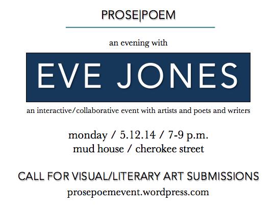 ANNOUNCEMENT: An Evening with Eve Jones